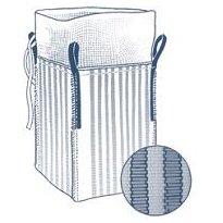 Storsäck, krage och plan botten, ventilerad
