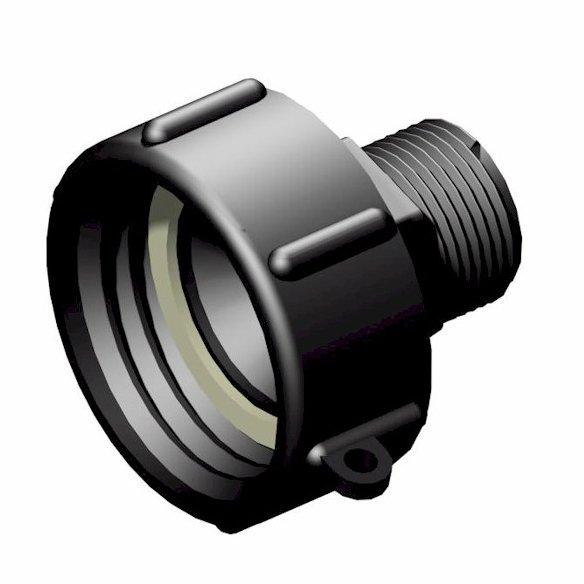 Adapter till IBC-behållare S60X6 -> 1″ BSP hane