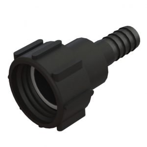 """Adapter till IBC-behållare S60X6 svivel -> 1"""" slang"""