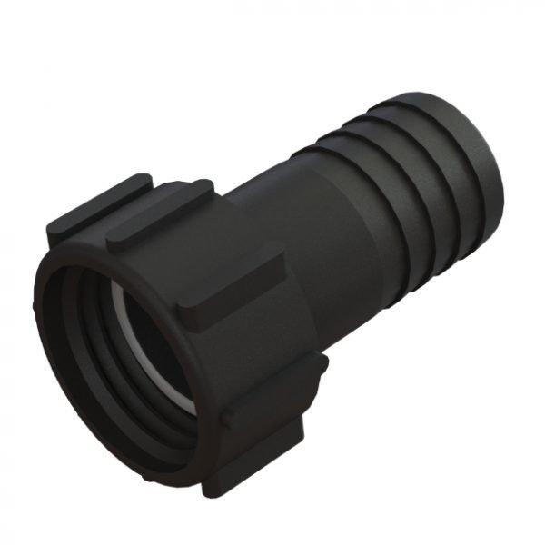 """Adapter till IBC-behållare S60X6 svivel -> 2"""" slang"""