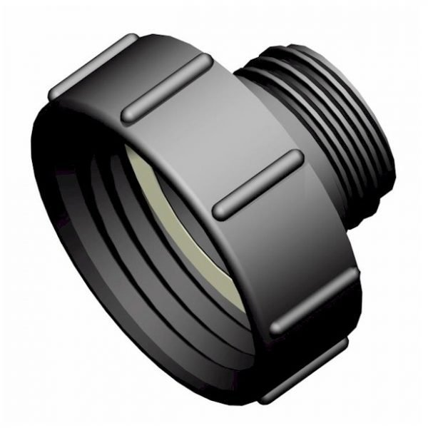 Adapter till IBC-behållare S100X8 -> S60X6 hane