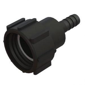 """Adapter till IBC-behållare S60X6 svivel -> ¾"""" slang"""