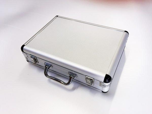 Aluminium portfölj 335x245x70