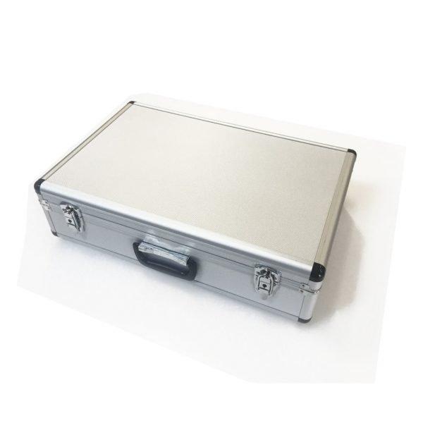 Aluminium portfölj 550x350x140mm