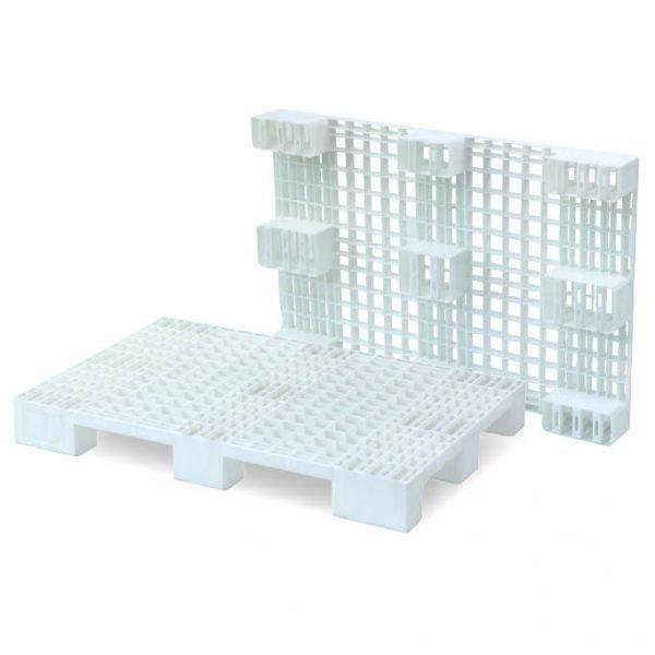 Plastpall 800x1200, 600 kg