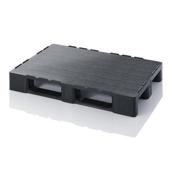 Plastpall 800x1200x152, 1500/2500 kg