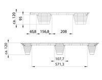 Presswoodpall 600×800, 500 kg