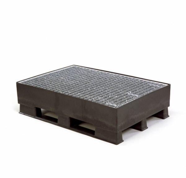Pall med fasta sidokanter 800x1200x310, 1500 kg