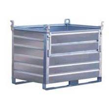 Stor metallbur, löstagbar vägg