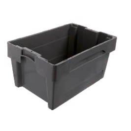 Plastbackar och -lådor