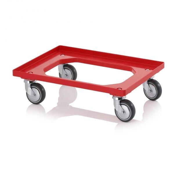Backvagn med gummihjul, 620x420