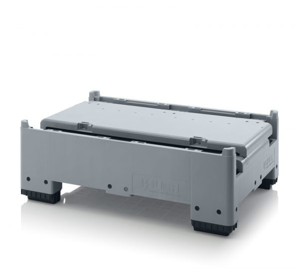 Hopfällbar pallcontainer, 1200x800x880