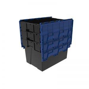 Flyttlåda med lock 600x400x400
