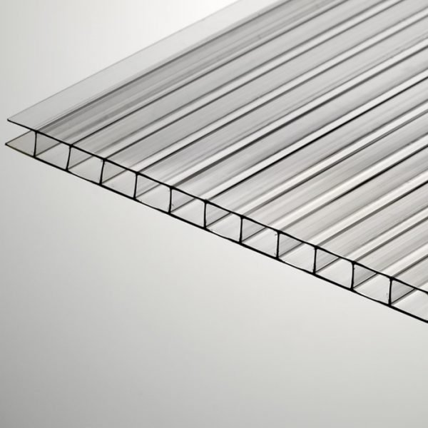 PC-cellplatta glasklar, 6000×2100