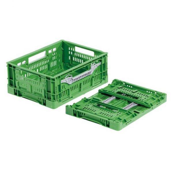 Fällbar plastlåda, 400x300x160