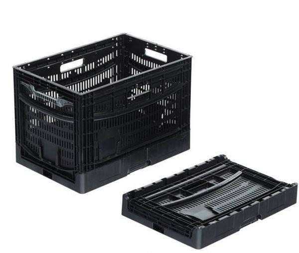 Fällbar plastlåda, 600x400x410