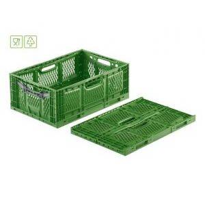 Fällbar plastlåda, 600×400