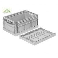 Fällbar plastlåda, 600x400x285