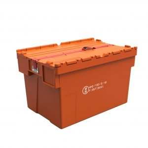 Plastlåda 600x400x310-400, UN-godkänd