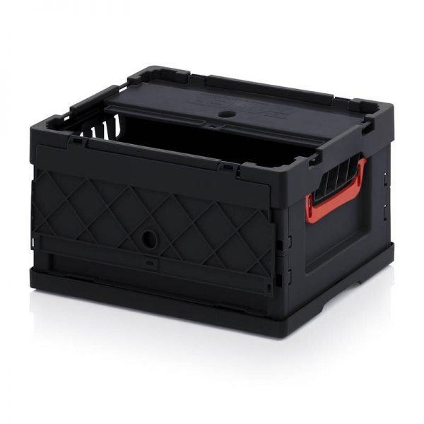 Vikbar ESD- back, 400x300x220