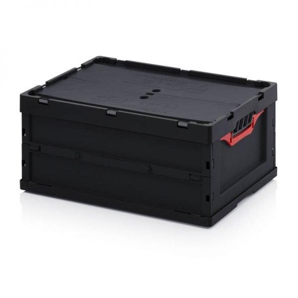 Vikbar ESD- back, 600x400x270
