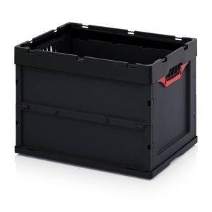 Vikbar ESD- back, 600x400x420