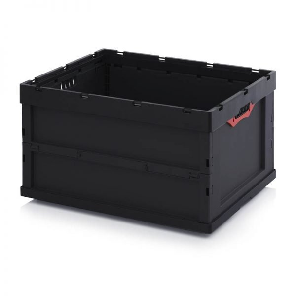 Vikbar ESD- back, 800x600x445
