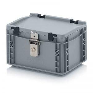 Euro behållare, låsbara, 300x200x185