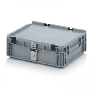 Euro behållare, låsbara, 400x300x135