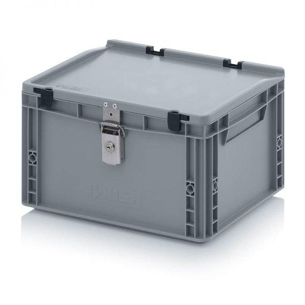 Euro behållare, låsbara, 400x300x235