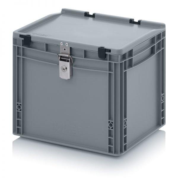 Euro behållare, låsbara, 400x300x335