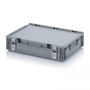 Euro behållare, låsbara, 600x400x135