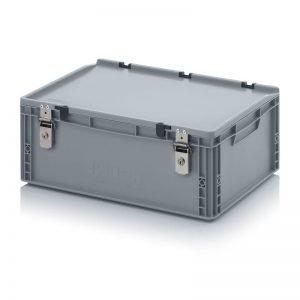 Euro behållare, låsbara, 600x400x235