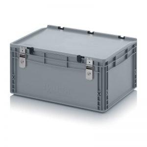Euro behållare, låsbara, 600x400x285