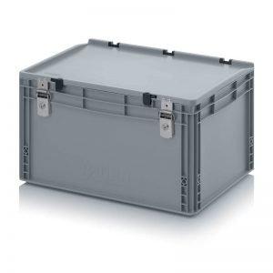 Euro behållare, låsbara, 600x400x335