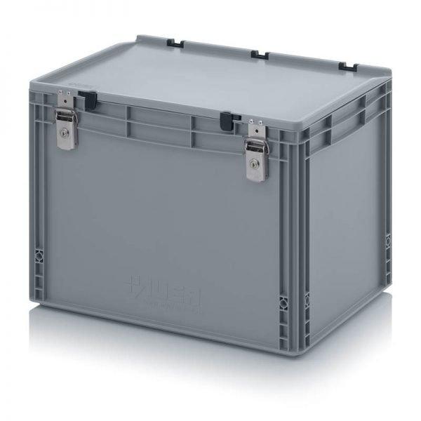 Euro behållare, låsbara, 600x400x435