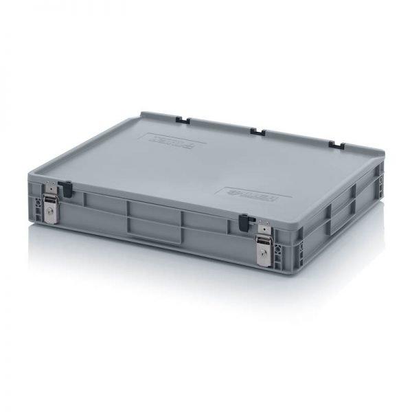 Euro behållare, låsbara, 800x600x140