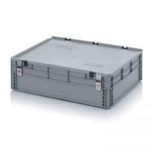 Euro behållare, låsbara, 800x600x240