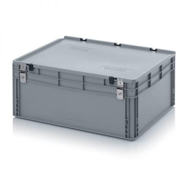 Euro behållare, låsbara, 800x600x340