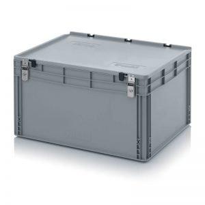Euro behållare, låsbara, 800x600x440