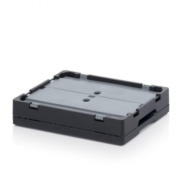 Fällbar plastlåda, 400x300x220