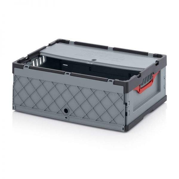 Fällbar plastlåda, 600x400x220