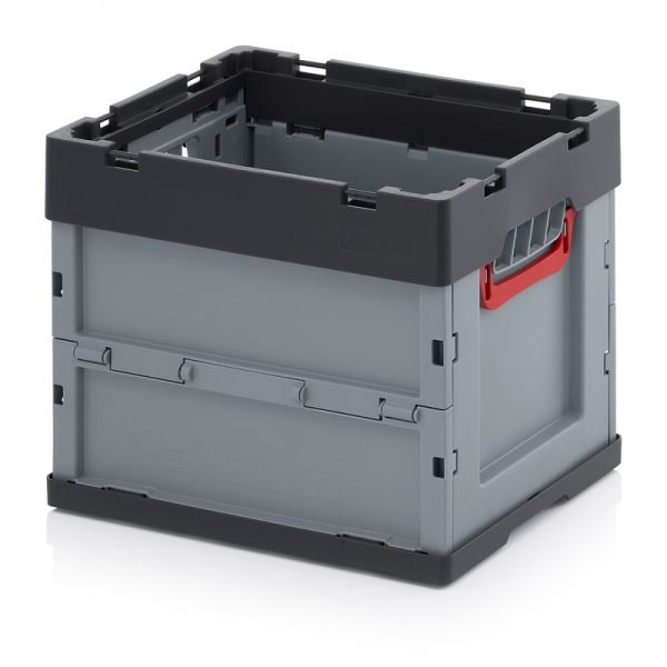 Fällbar plastlåda, 400x300x320