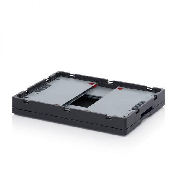 Fällbar plastlåda, 600x400x270